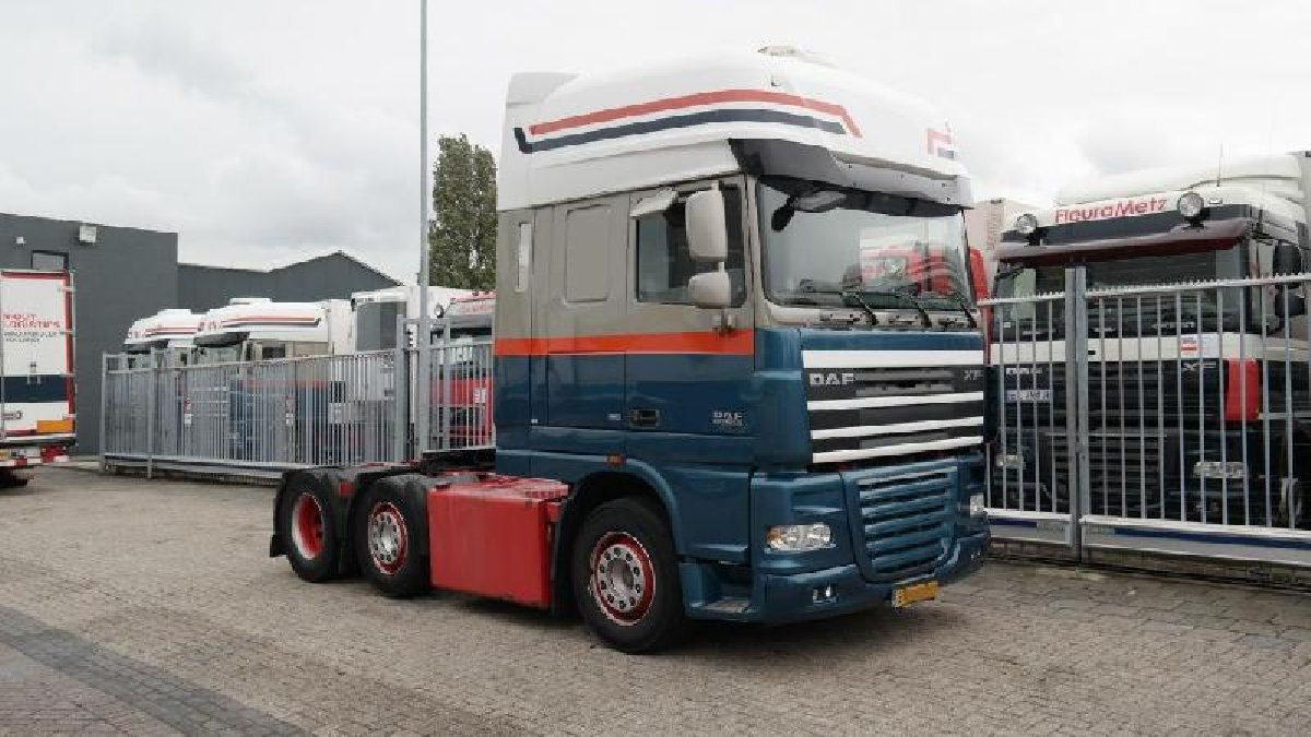 DAF XF 105 410 Manual Gearbox Euro 5 Space Cab (S for sale