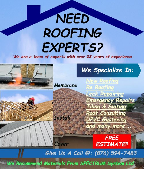 IS YOUR ROOF A MESS? CALL OUR EXPERTS AT 594-7483