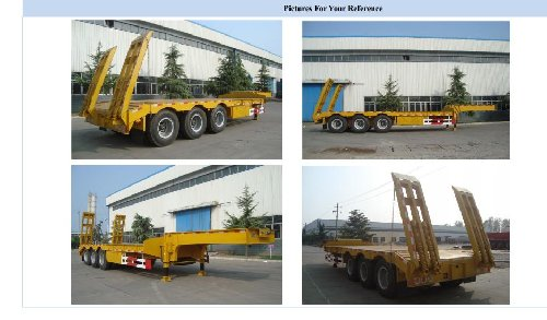3 Axle Low Bed Trailer, 50 TON