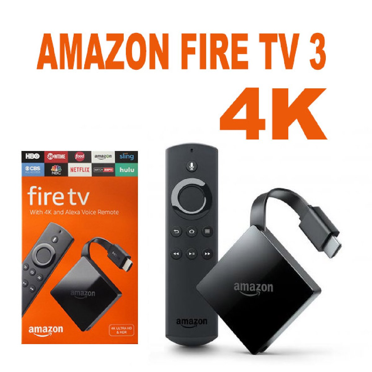 bran new amazon fire tv boxes the latest version for sale. Black Bedroom Furniture Sets. Home Design Ideas