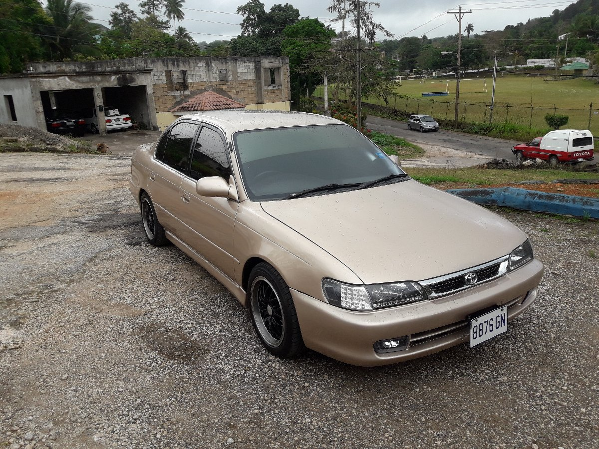 1995 Toyota Corolla Police Shape For Sale In Mandeville Manchester