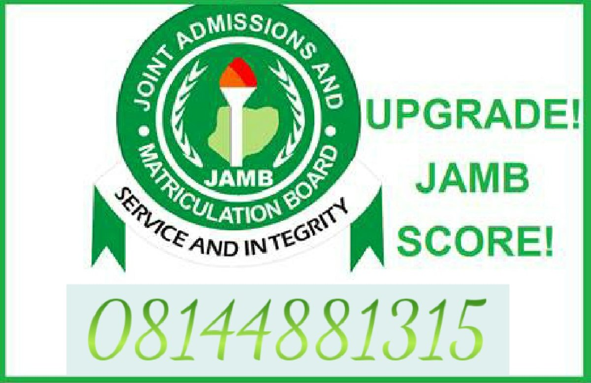 Upgrade Your JAMB Now in Abuja Nigeria St Catherine for ...