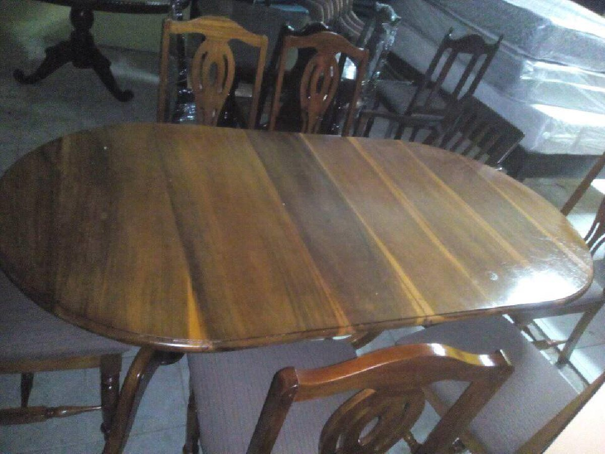 6 Seat Dining Table Set For Sale
