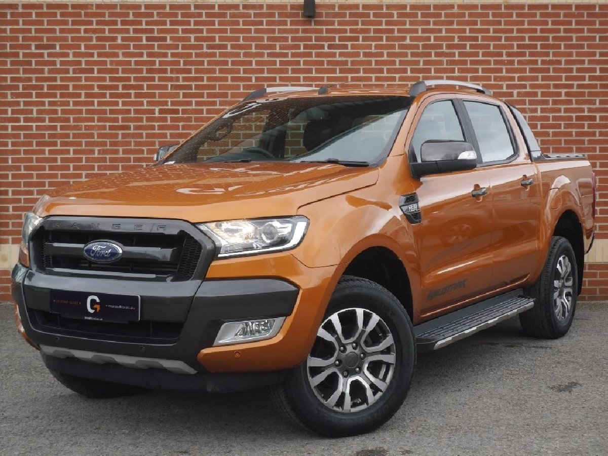 Ford ranger 3 2 tdci wildtrak double cab pickup 4x