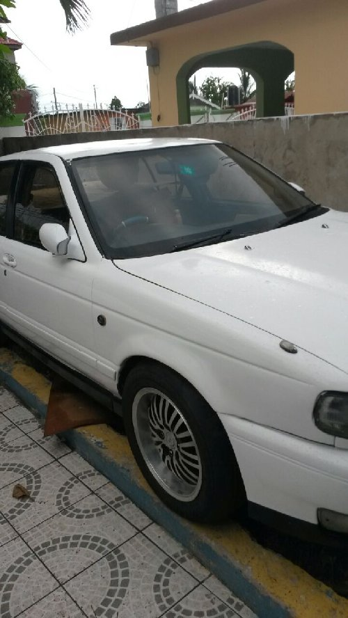 1997 Grey Nissan Sunny B14 For Sale In Montego Bay