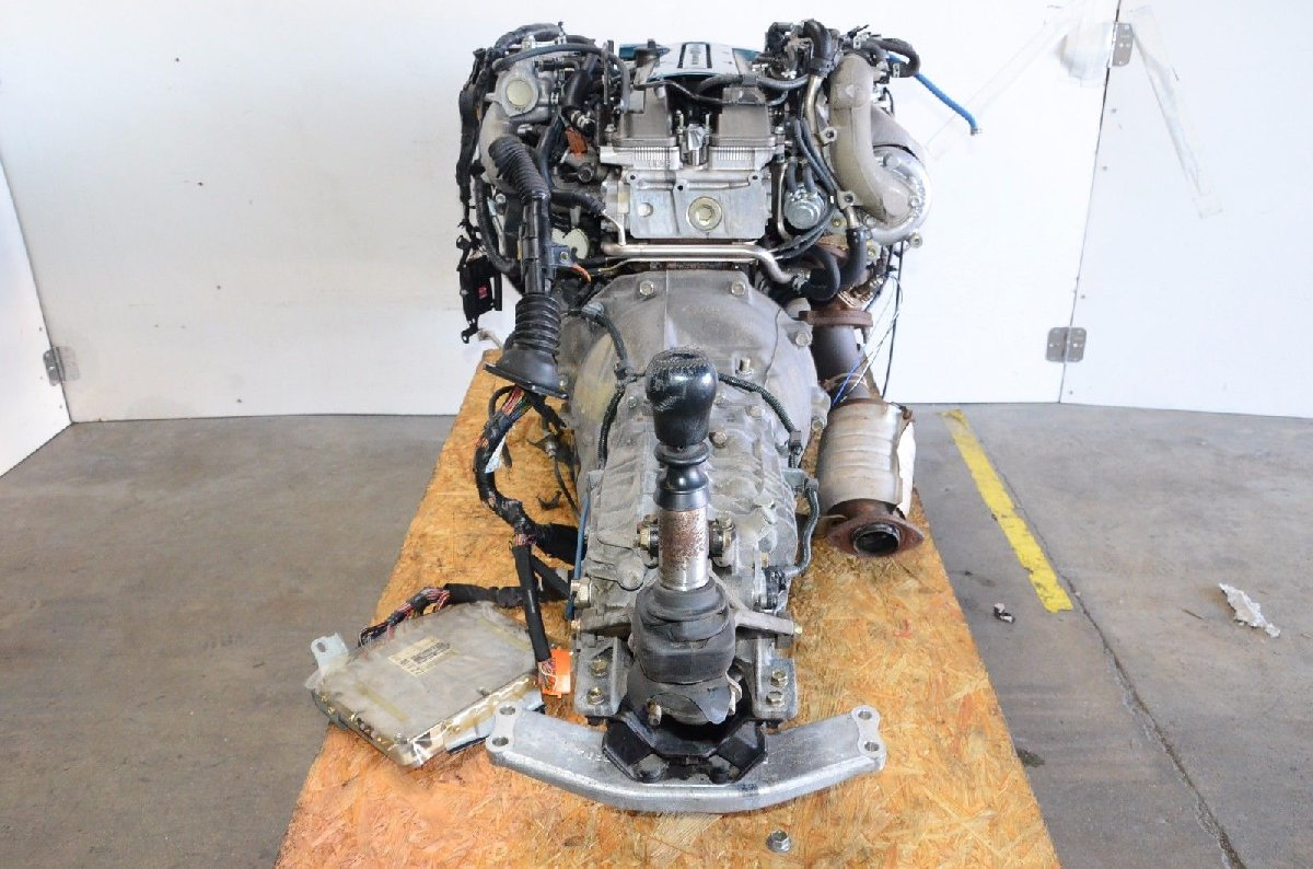 JDM TOYOTA SUPRA ENGINE 2JZ GTE VVTI REAR SUMP 6SP for sale in St