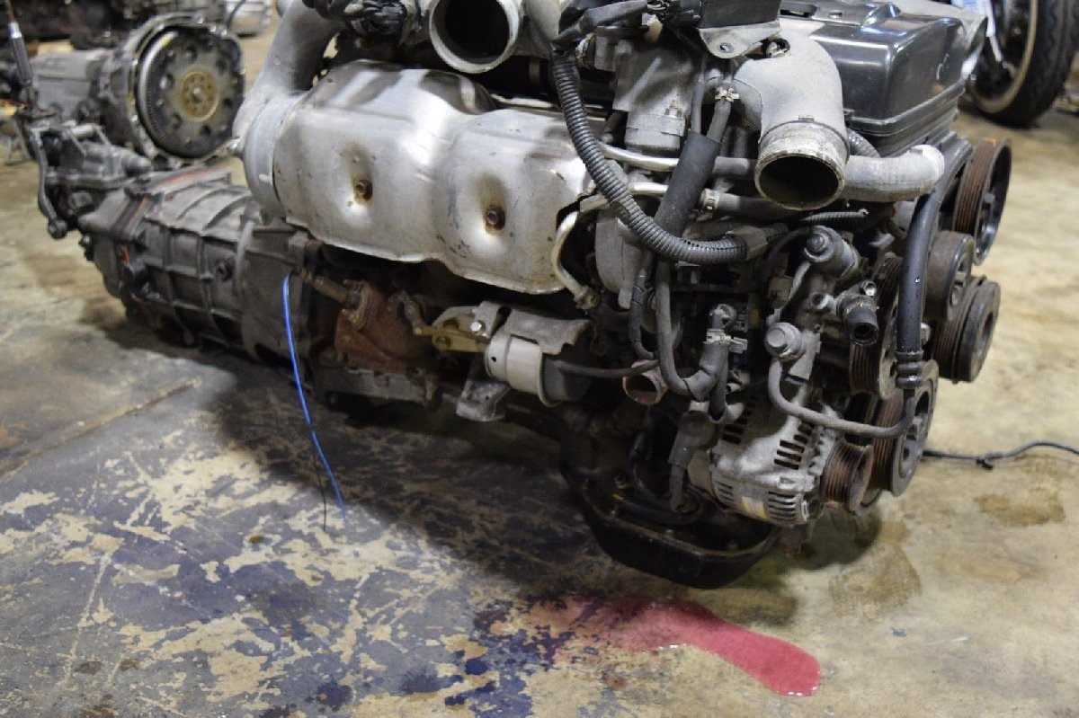Jdm Toyota Supra 2jz Gte Twin Turbo Engine 6 Speed For Sale In Wiring Harness Supera