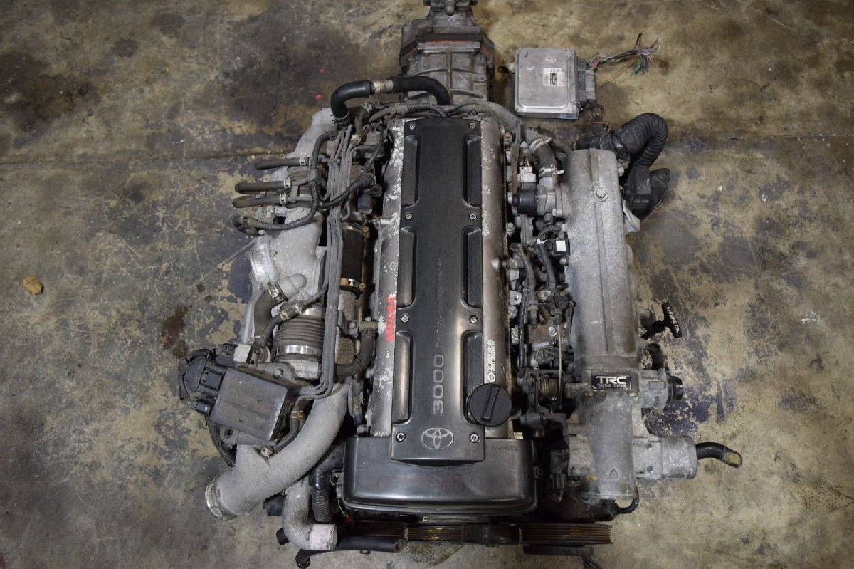 Jdm Toyota Supra 2jz Gte Twin Turbo Engine 6 Speed For Sale In Wiring Harness