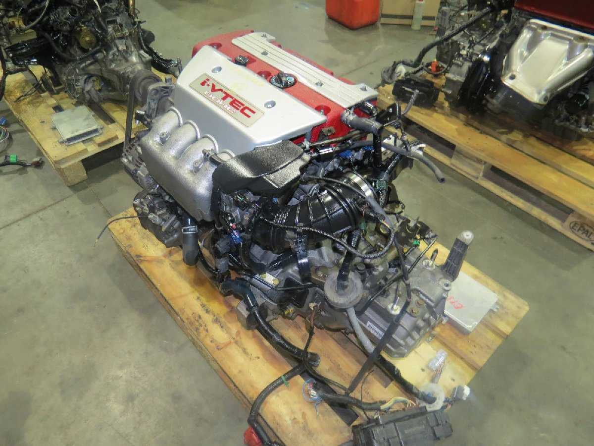 Jdm K20a Honda Civic E 20l Dohc Vtec Engine 6 Spe For Sale In Mr Wiring Harness