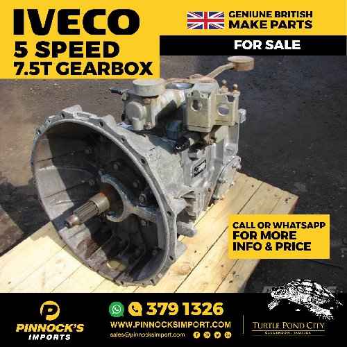IVECO 5 SPEED 7.5T GEARBOX