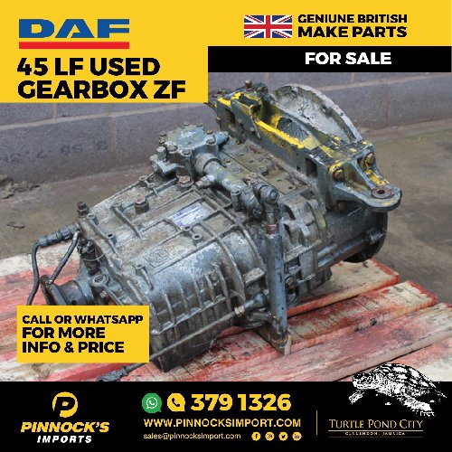 DAF 45 LF USED GEARBOX ZF