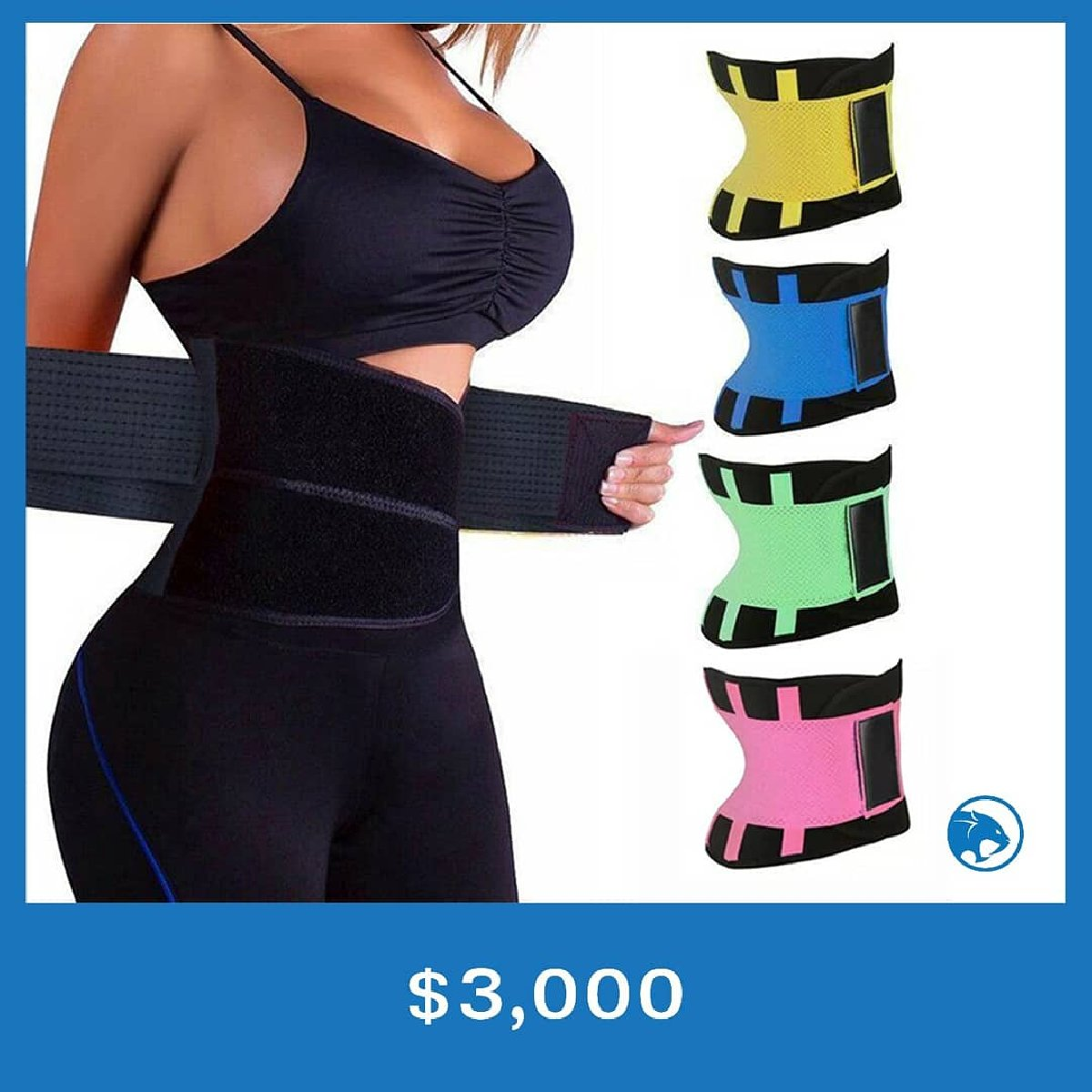4125e1a6e4 Women s Fitness Waist Cincher Waist Trimmer Corset for sale in ...