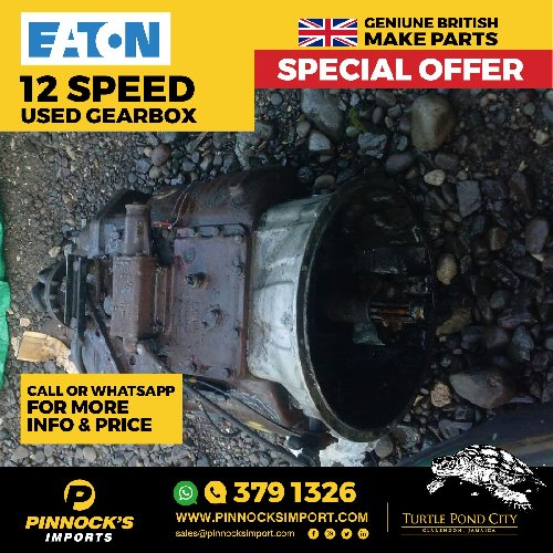 EATON 12 SPEED USED GEARBOX
