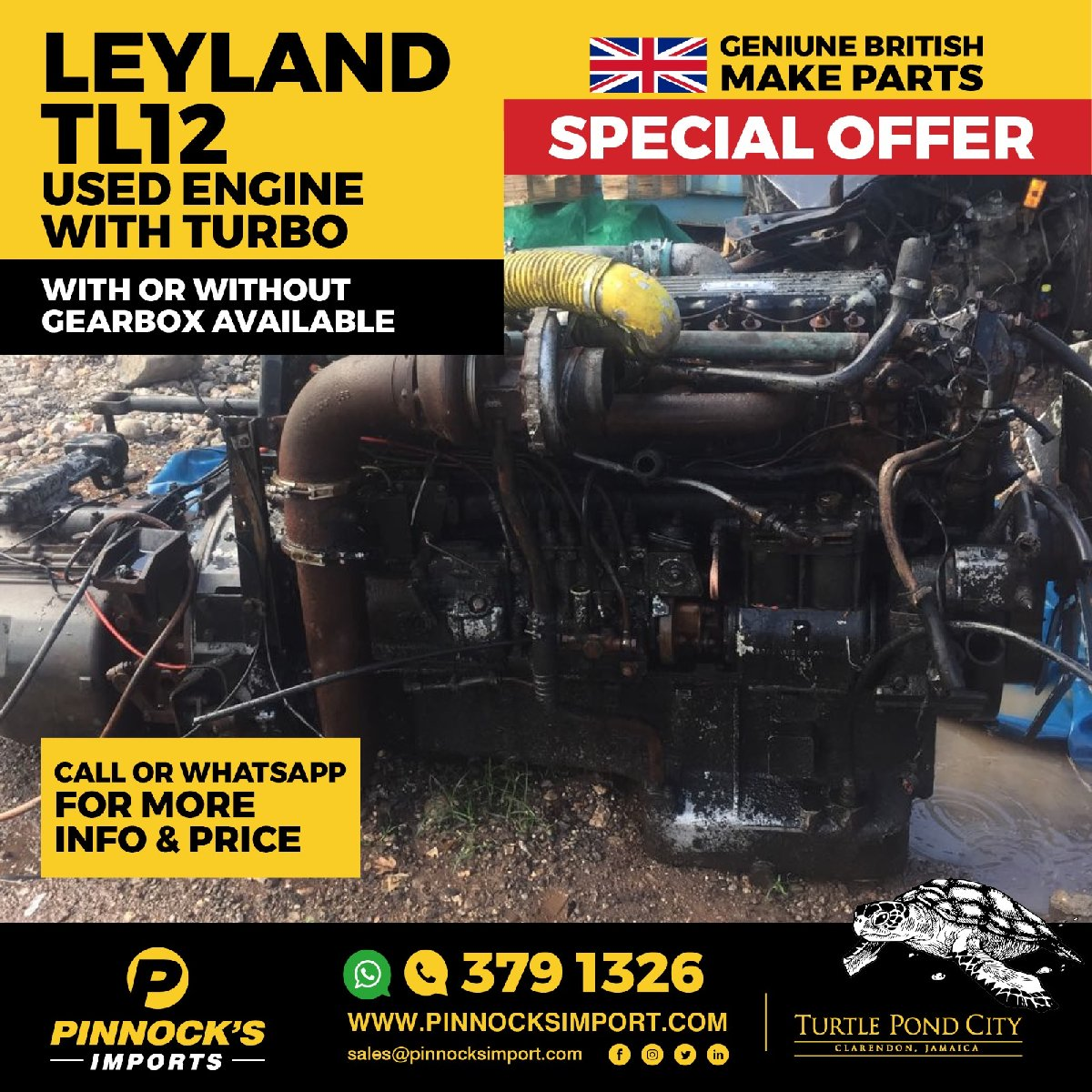 Homes For Rent Search Engine: LEYLAND TL12 USED ENGINE WITH TURBI For Sale In Available