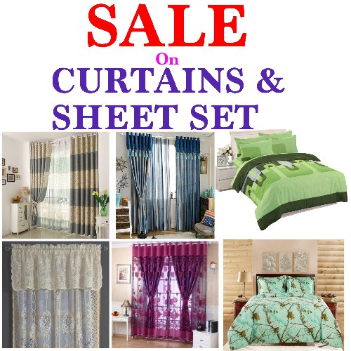 SALE ON CURTAINS AND SHEET SETS Home & Office BIG J\'S BUILDING, LOWER HARBOUR STREET ,FALMOUTH