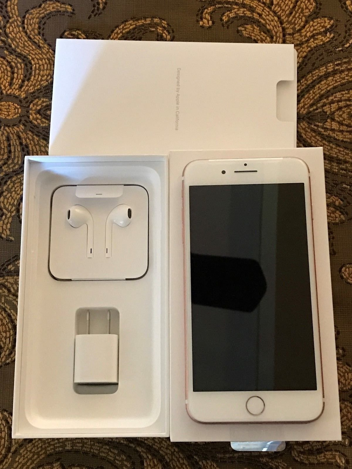 apple iphone 7 plus gold 128gb   rose gold  for sale in