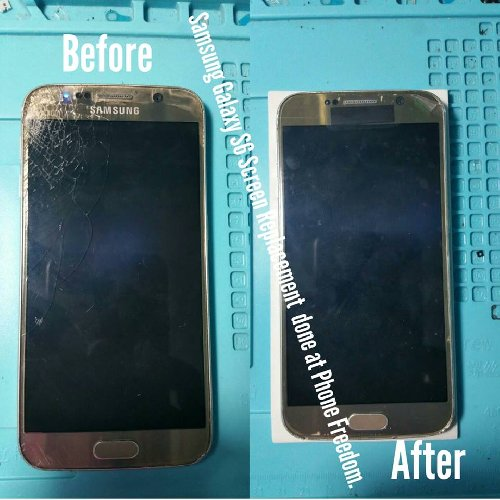 Samsung S6 LCD Replacement Screens