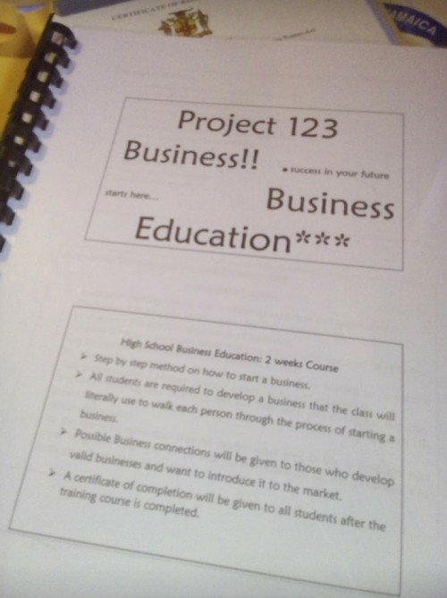Booklet guide on how to start a business