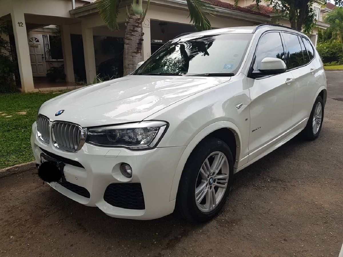 2015 bmw x3 for sale in kingston kingston st andrew vans suvs. Black Bedroom Furniture Sets. Home Design Ideas