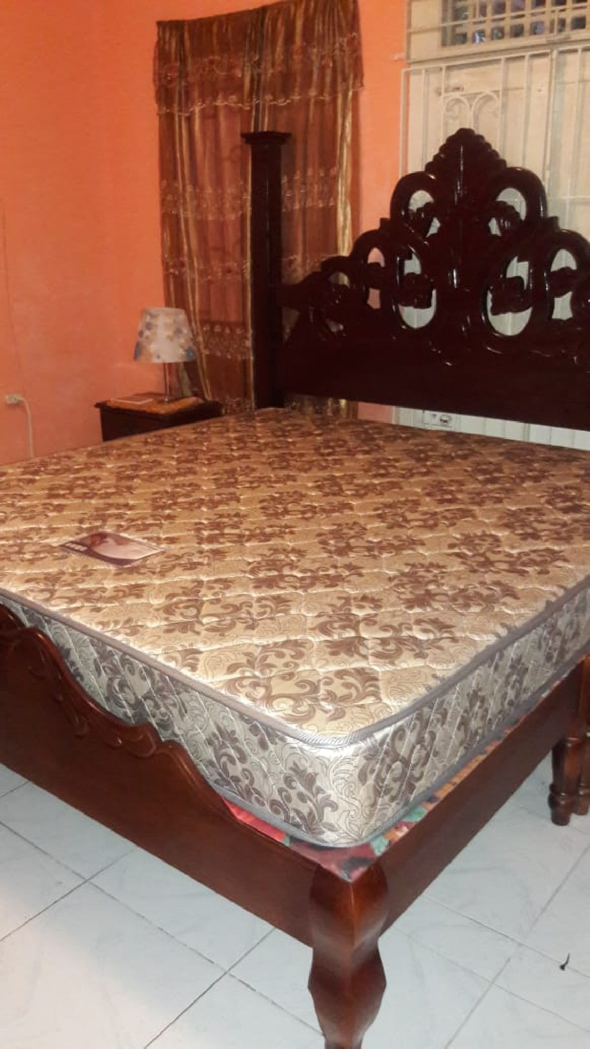 King Size Mattress And Double Bed Base for sale in ...