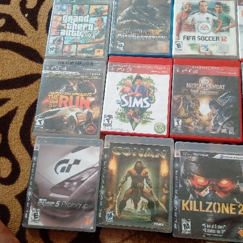 PS3 Game And 25 Game CDs For Sale