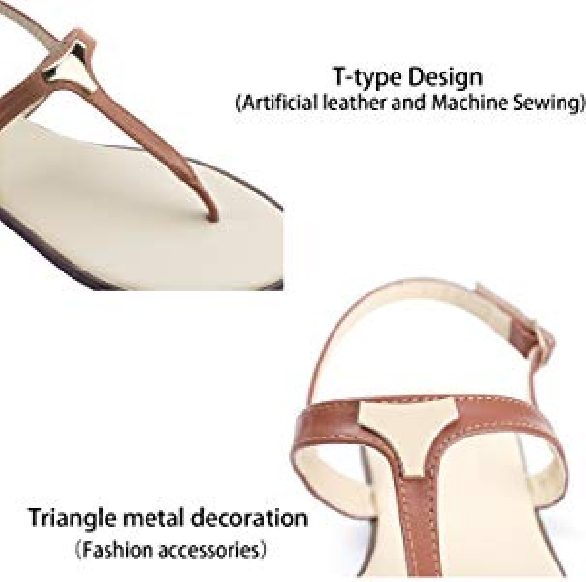 191a9b0333fc Women s Metal Triangle Sandals for sale in Uwi Mona Campus (online ...