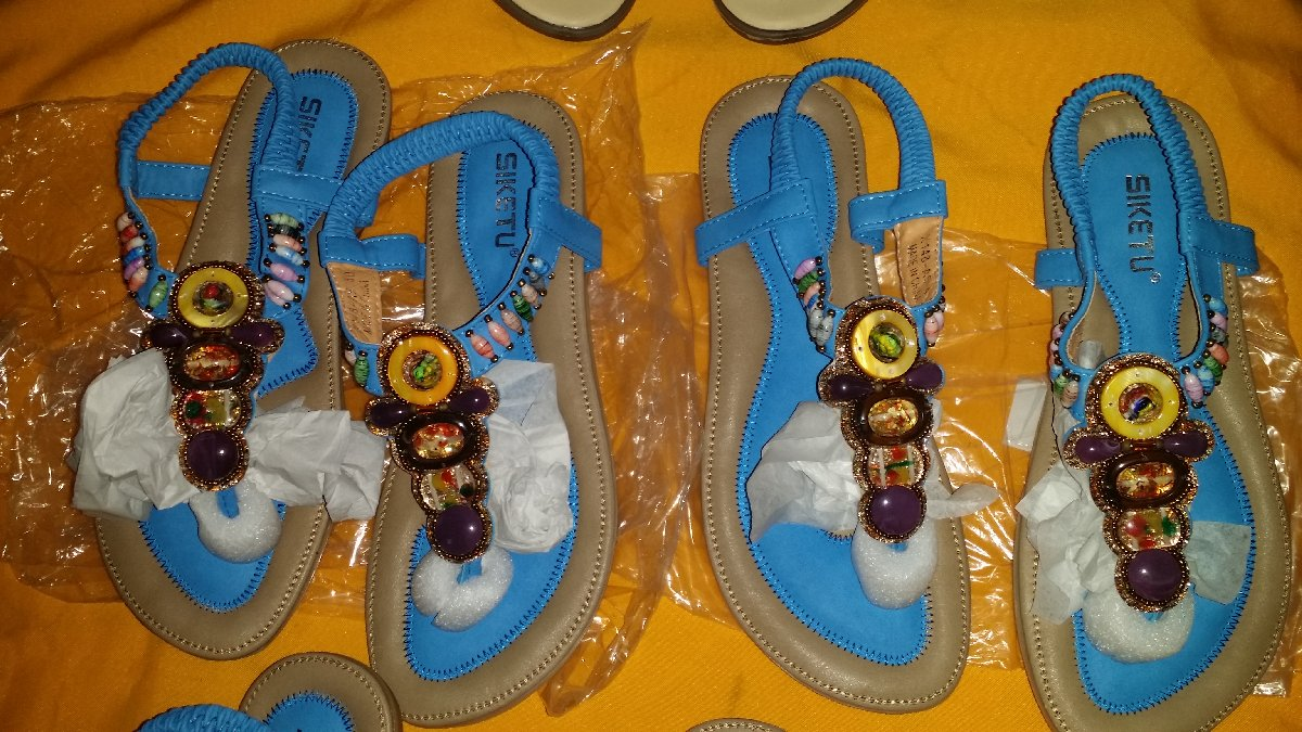 e492cd505a6a Fashion Shoes Women s Gemstone Casual Sandals for sale in Uwi Mona ...