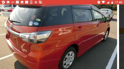 2013 Toyota Wish New In Jamaica Immaculate Conditi