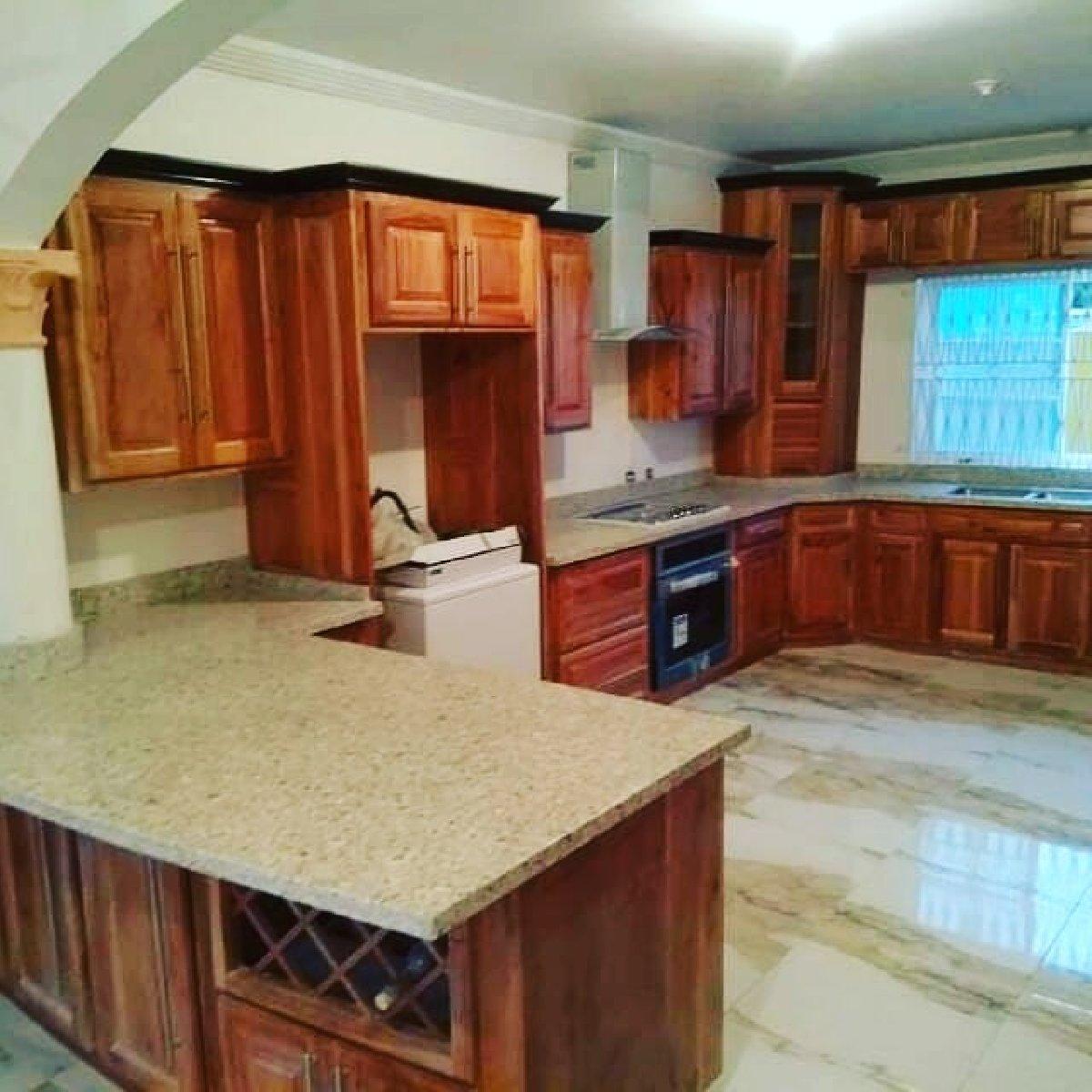 Kitchen Design Jamaica: Custom Build Your Kitchen Cupboard For Sale In Kingston