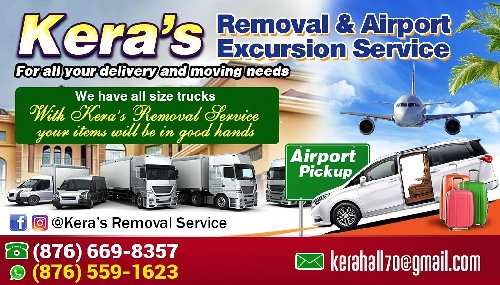 Kera's Removal Service 24hr Airport Drop Off And P