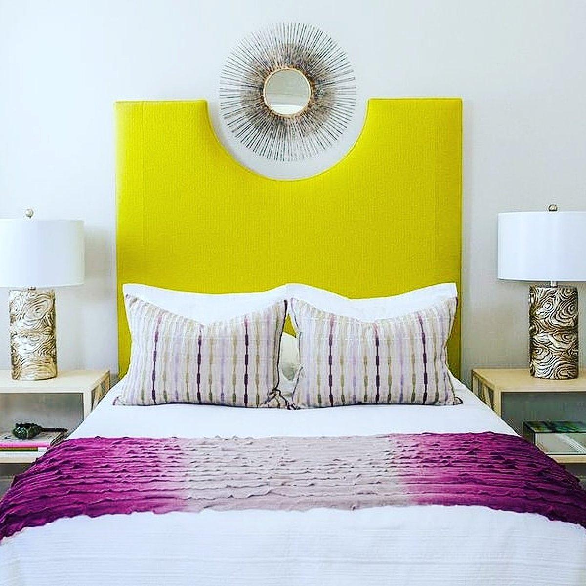 Elegant modern bedhead for sale