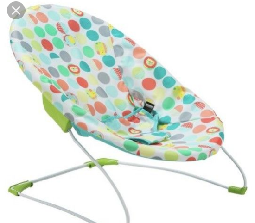 Gisher-Price Baby Bouncer, Geo Medow