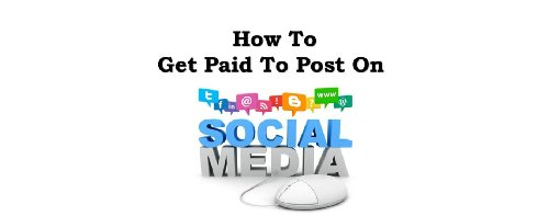 Get Paid To Post Ads On Social Media Part Time Jobs Www.tlztravels.com