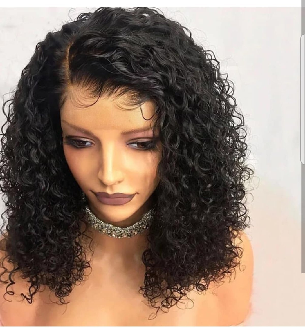 Lace Frontal Wigs, 3D Mink Eyelashes, Bold Hold for sale ...