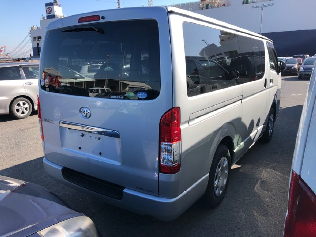 2018 Toyota Hiace Japanese Used Cars MYK Autotrade For