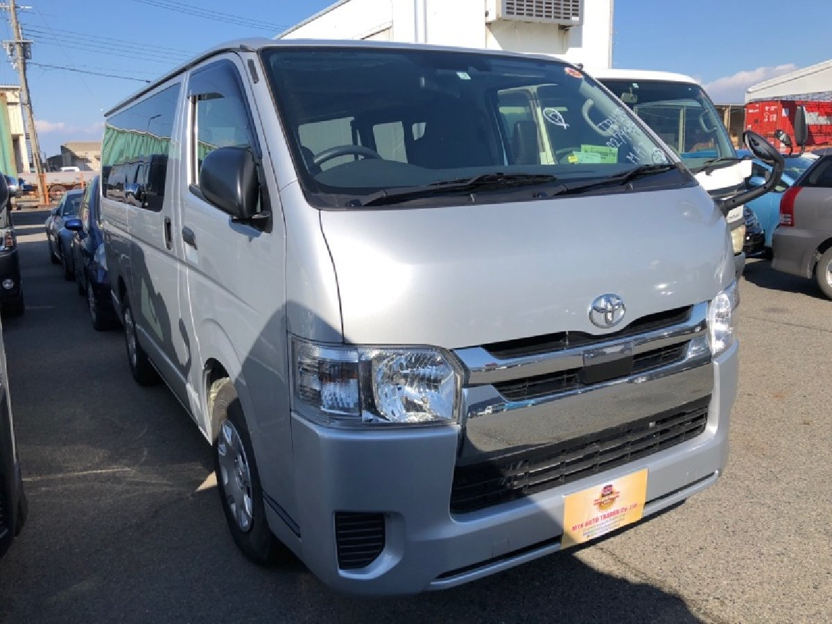 2018 Toyota Hiace Japanese Used Cars MYK Autotrade for sale