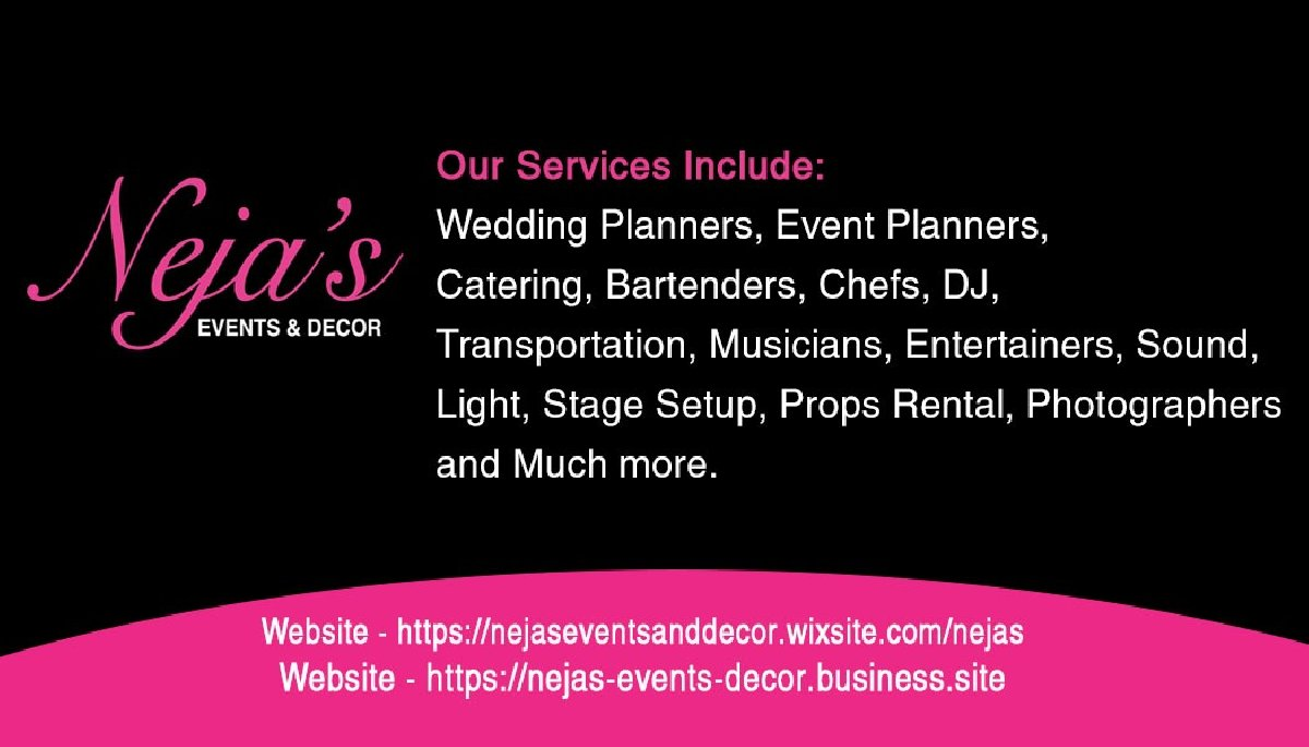 Nejas Events & Decor for sale in Kingston/Negril Montego Bay