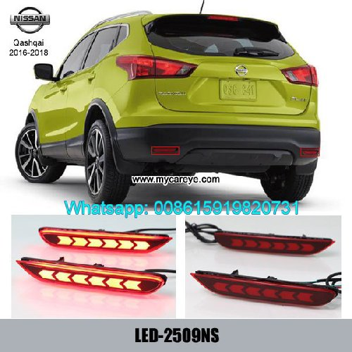 Nissan Qashqai Car LED Bumper Lamps Taillight Brak Auto Accessories Shenzhen