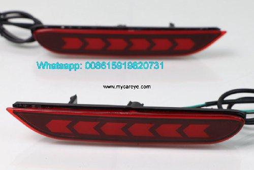 Nissan Qashqai Car LED Bumper Lamps Taillight Brak