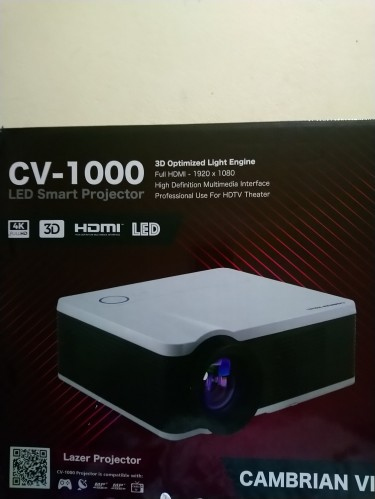 Led Smart Projector And Screen
