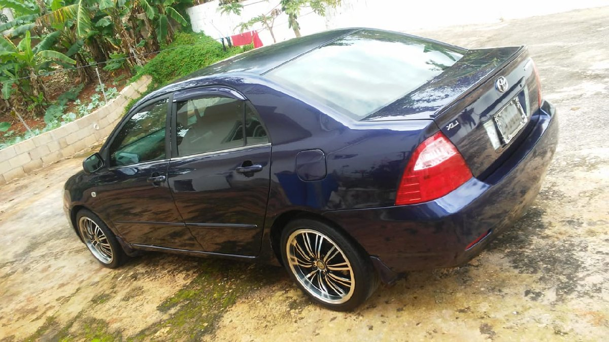 2003 Toyota Coralla King Fish For Sale In Jamaica Mandeville