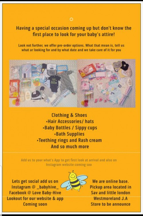 All size baby clothes