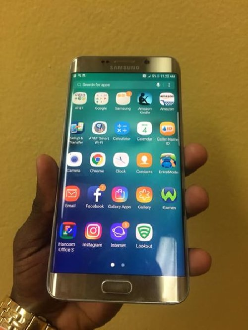GOLD SAMSUNG GALAXY S6 EDGE PLUS