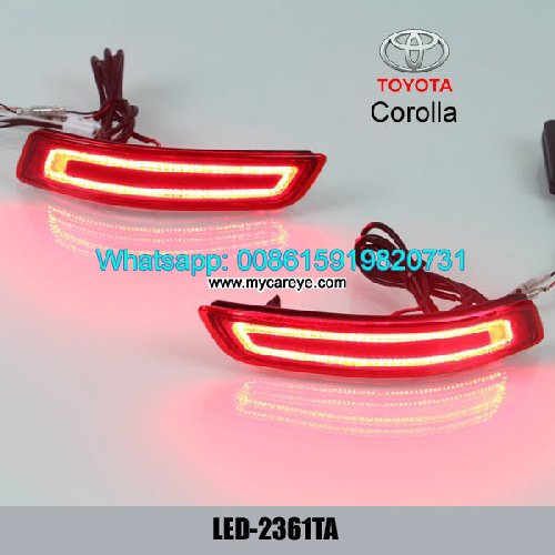 Toyota Corolla LED Rear Bumper Brake Turn Signal L