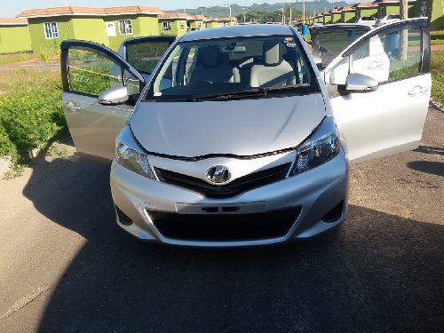 Toyota Vitz Motor Car (NEWLY IMPORTED) For Sale
