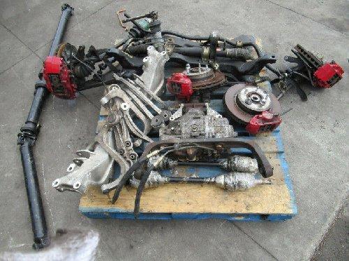 Mitsubishi Lancer EVO 7 Turbo Engine Diff Brembo