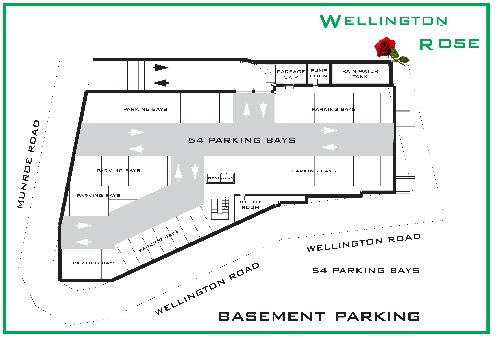 1 Bedroom Wellington Rose