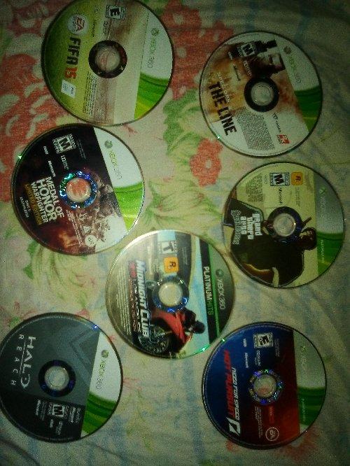 Xbox 360 Game CD\\\'s
