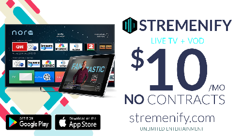 Stremenify Access Live Tv Package Limited Offer