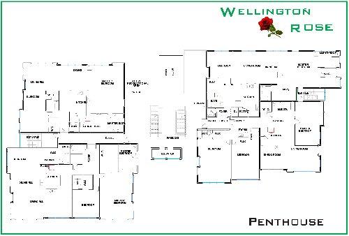 2 Bedroom Wellington Rose
